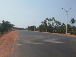 New bypass road  NH4A